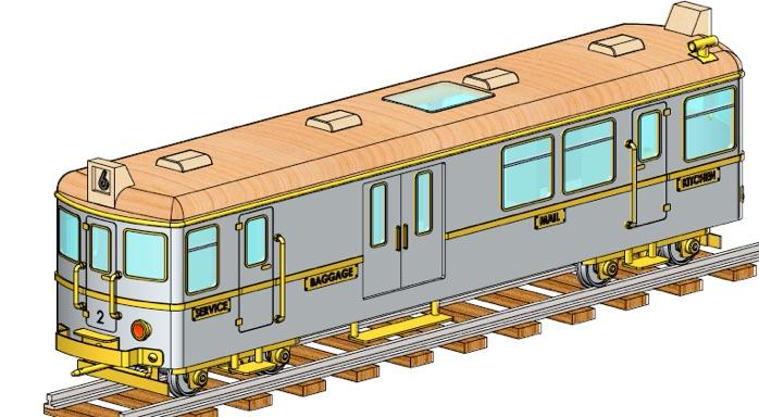 G1 mail wagon